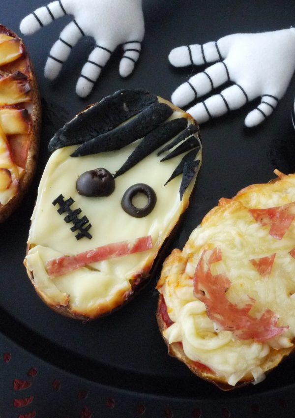 【萬聖節】起司烤馬鈴薯