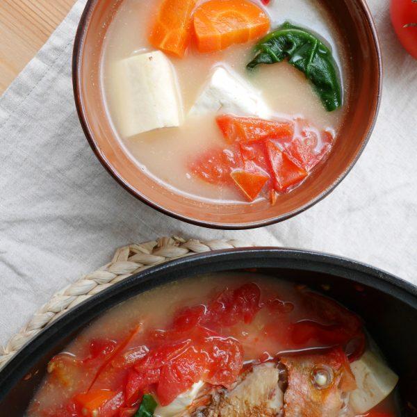 番茄豆腐魚湯