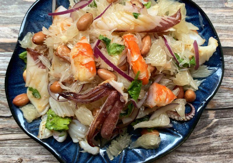 泰式柚子海鮮沙拉