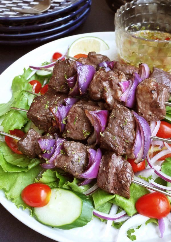 泰式叢林牛肉烤串