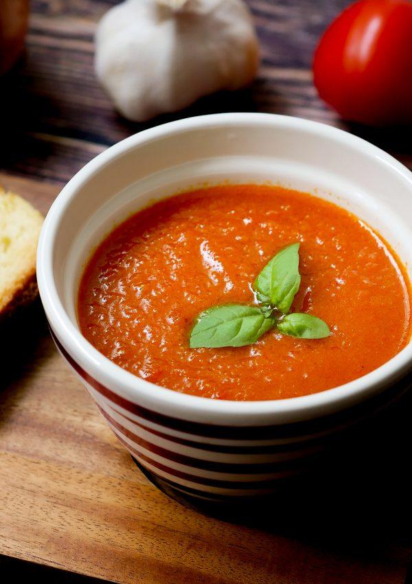 New! 烤番茄濃湯