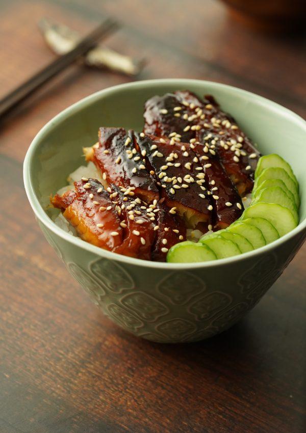 蒲燒鯛魚蓋飯【艾肉客】